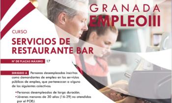 Granada Empleo – Restaurante Bar